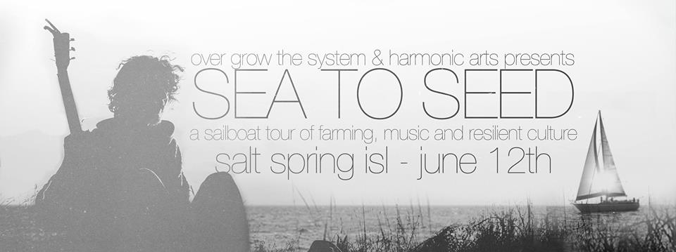 Sea to Seed Tour Salt Spring Island! June 12, 2015